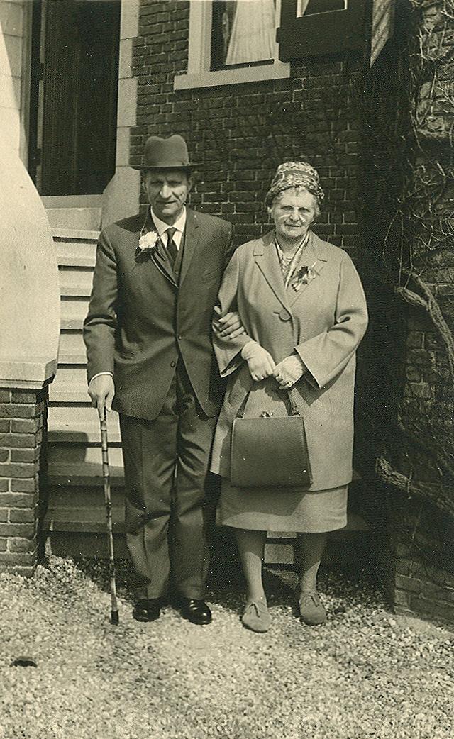 Bernardus Gaasbeek (1893-1966), Wilhelmina Kuus (1895-1979)