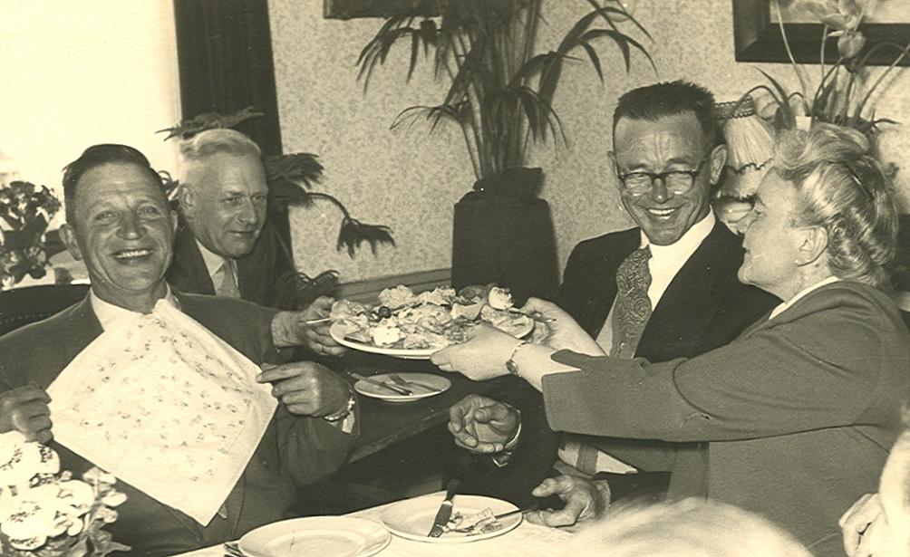 Bernardus Gaasbeek (1893-1966), Willem Rudolf Calker (1895-1967), Jan Kuus (1905-1964), Aaltje Polman (1906-1963)