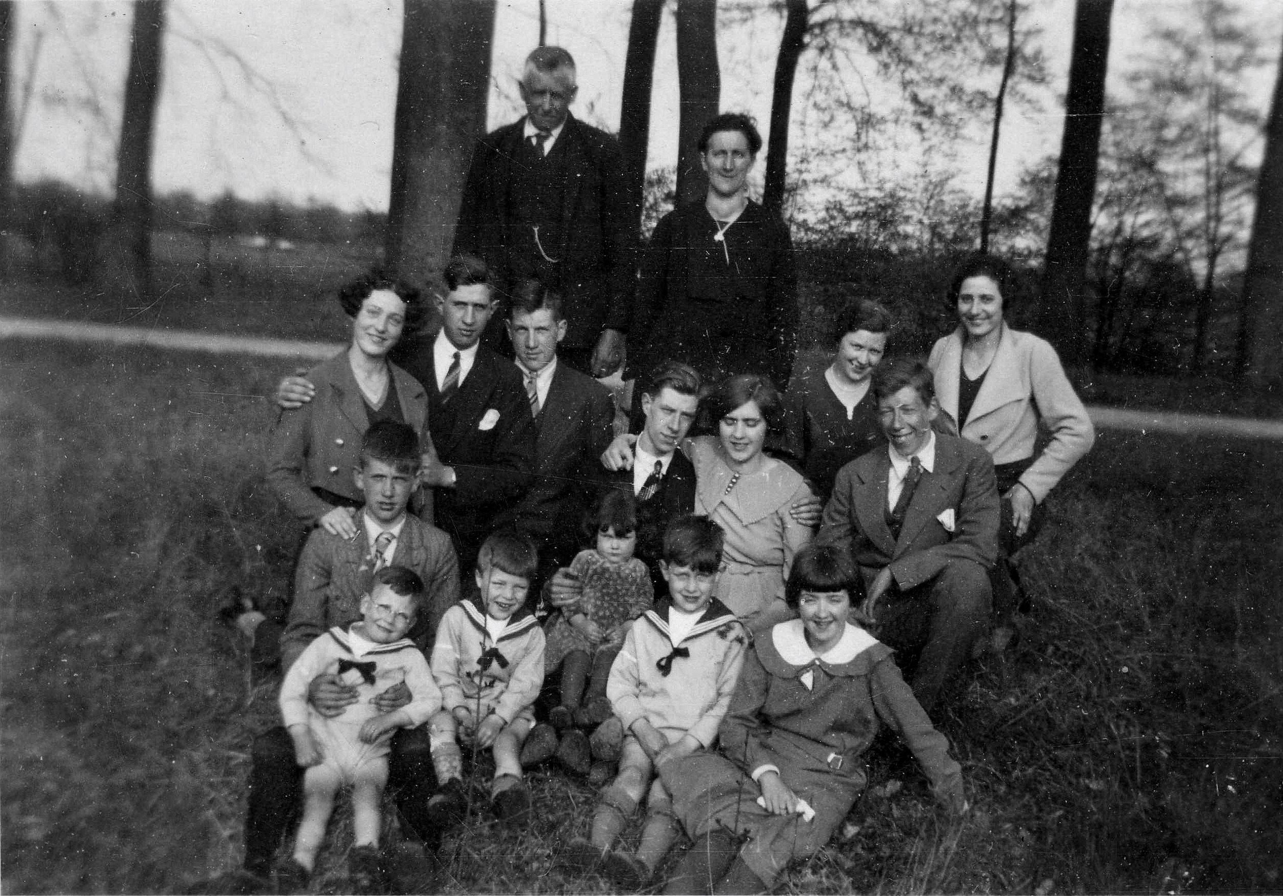 Familie Brouwer - Agterberg 1935