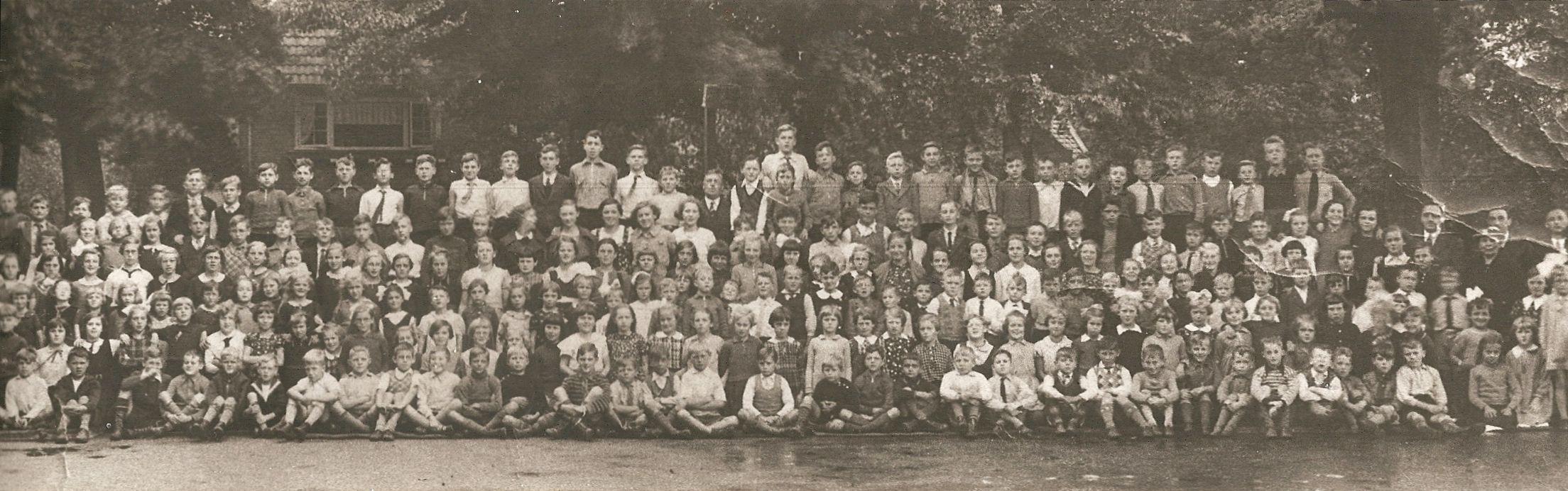 Johannes Pieter Brouwer (1929-2012) - schoolfoto