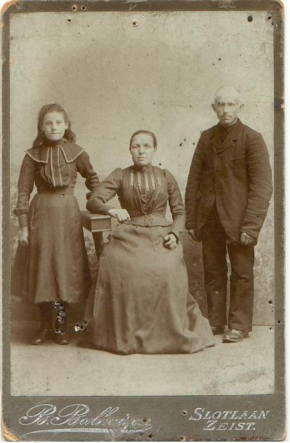 Geertruida Kuus (1860-1932), Rijk van Geijtenbeek (1856-1907)