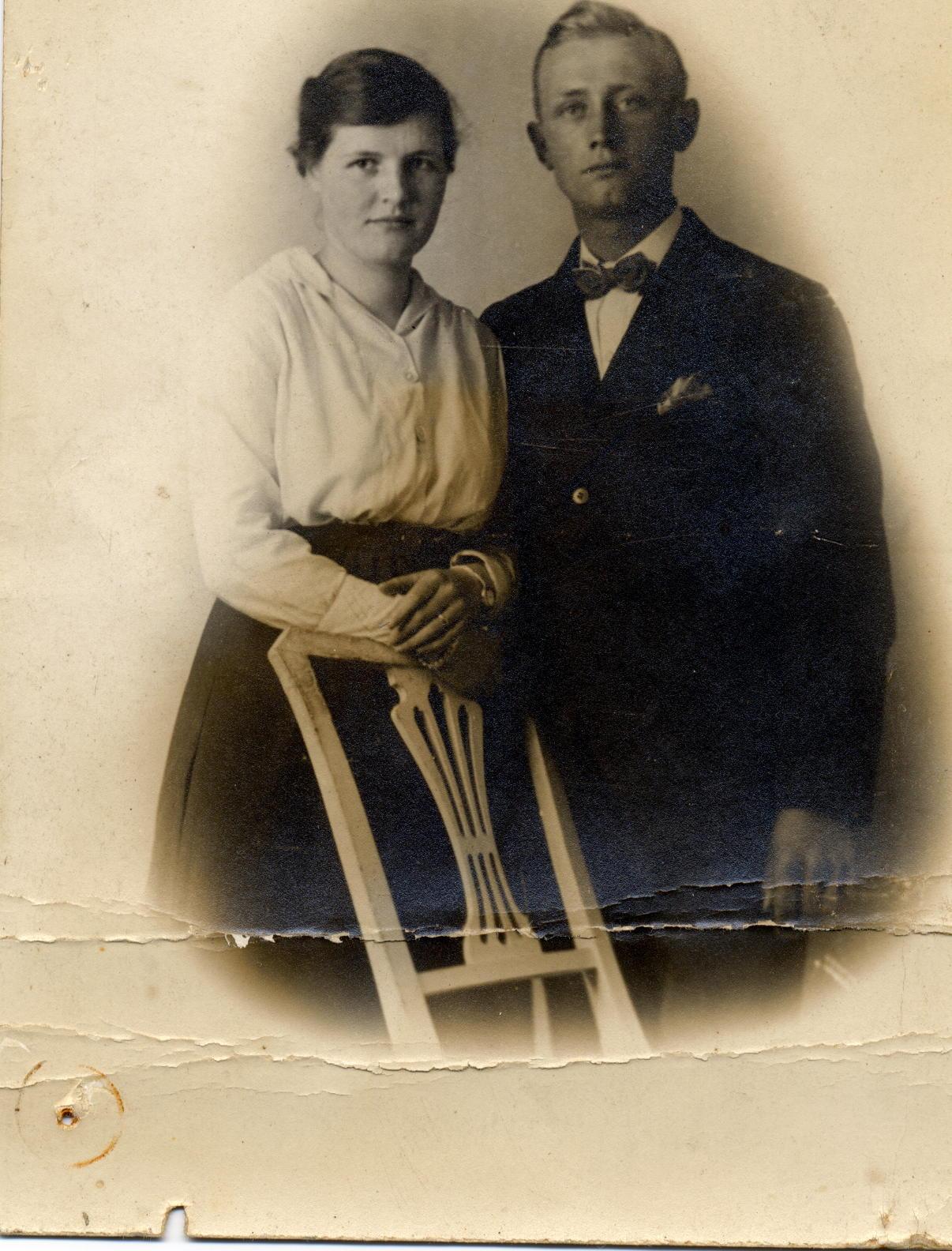 Geertruida Kuus (1901-1986), Lammert Jan Hofstede (1901-1992)