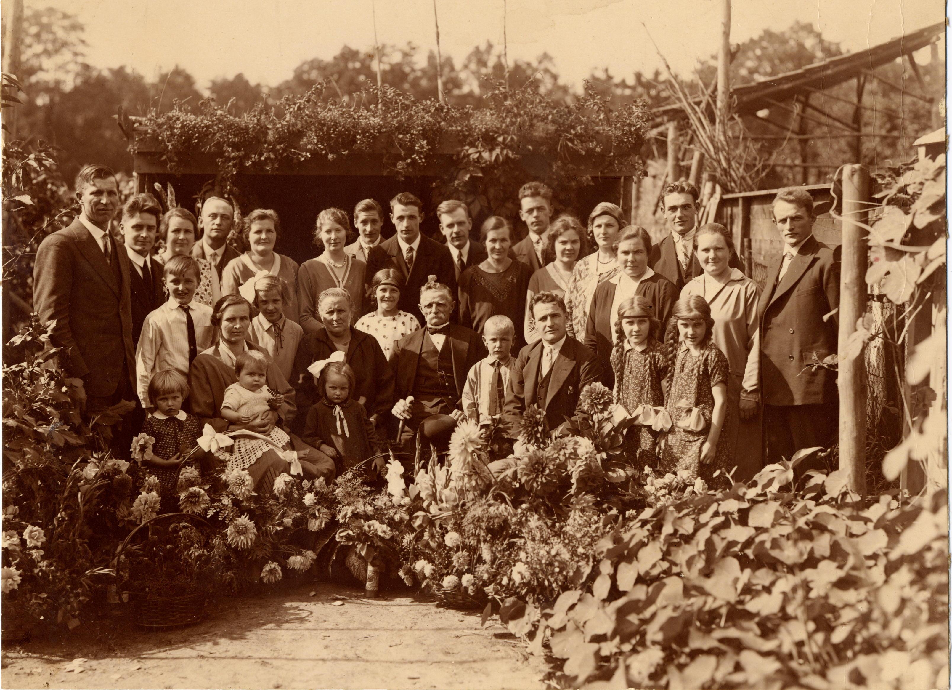 Gijsbert Kuus en Geertruida Kool - 35 jarig huwelijk (1930)