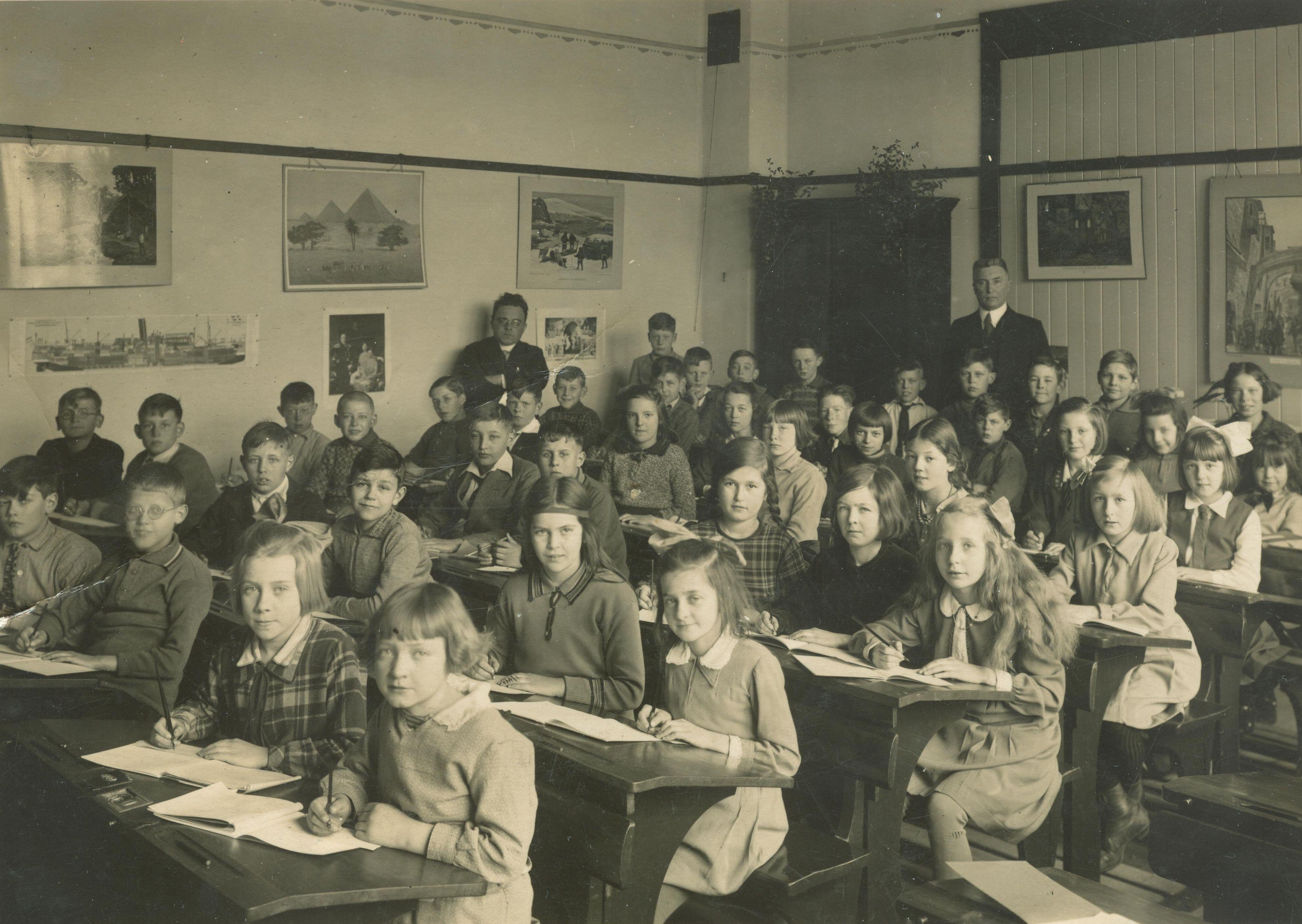 Hendrik Gaasbeek (1920-1990) - schoolfoto