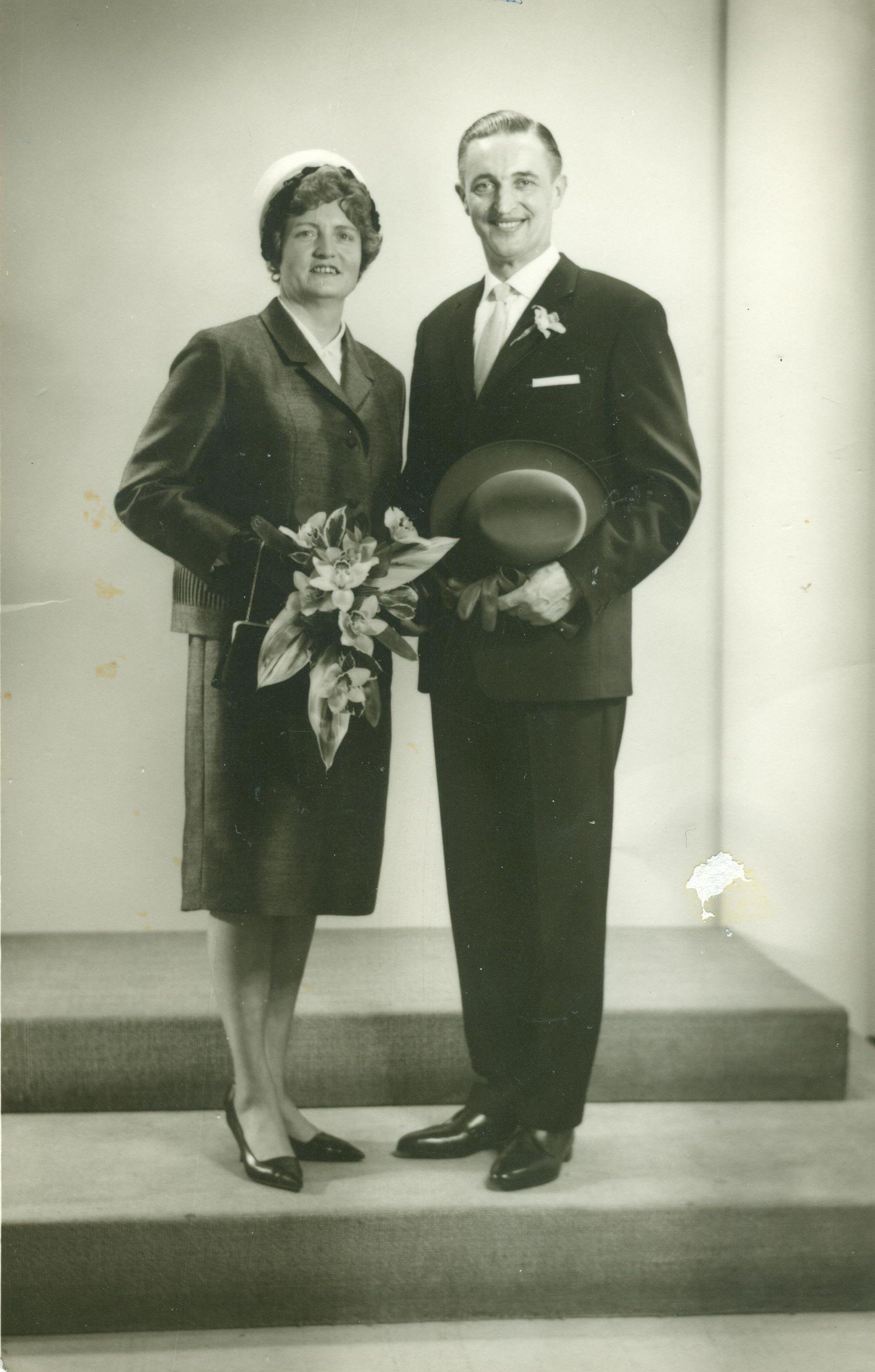 Rijkje van der Haar (1922-1986), Hendrik Gaasbeek (1920-1990)