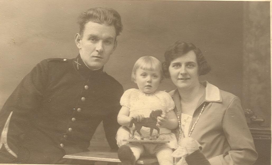 Johannes Matthijs Verstrepen (1898-1951), Wies Louise Verstrepen, Alida Catharina Maria Brouwer (1900-1987)