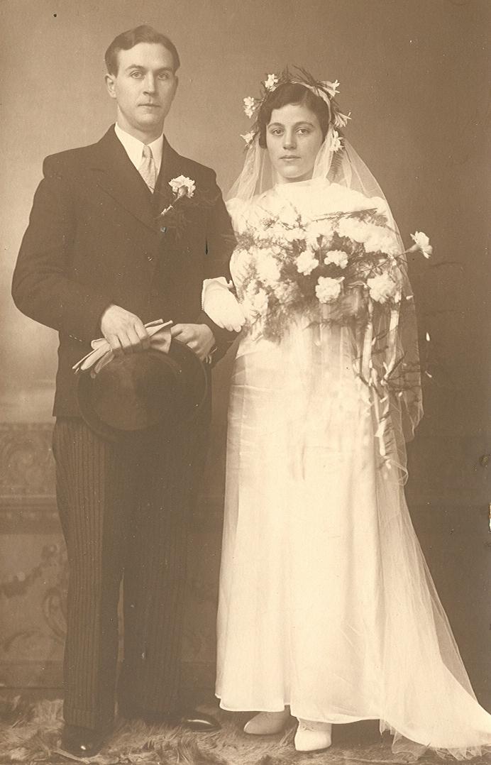 Johannes Pieter Brouwer (1910-1990), Christina Maria Agterberg (1912-1956)