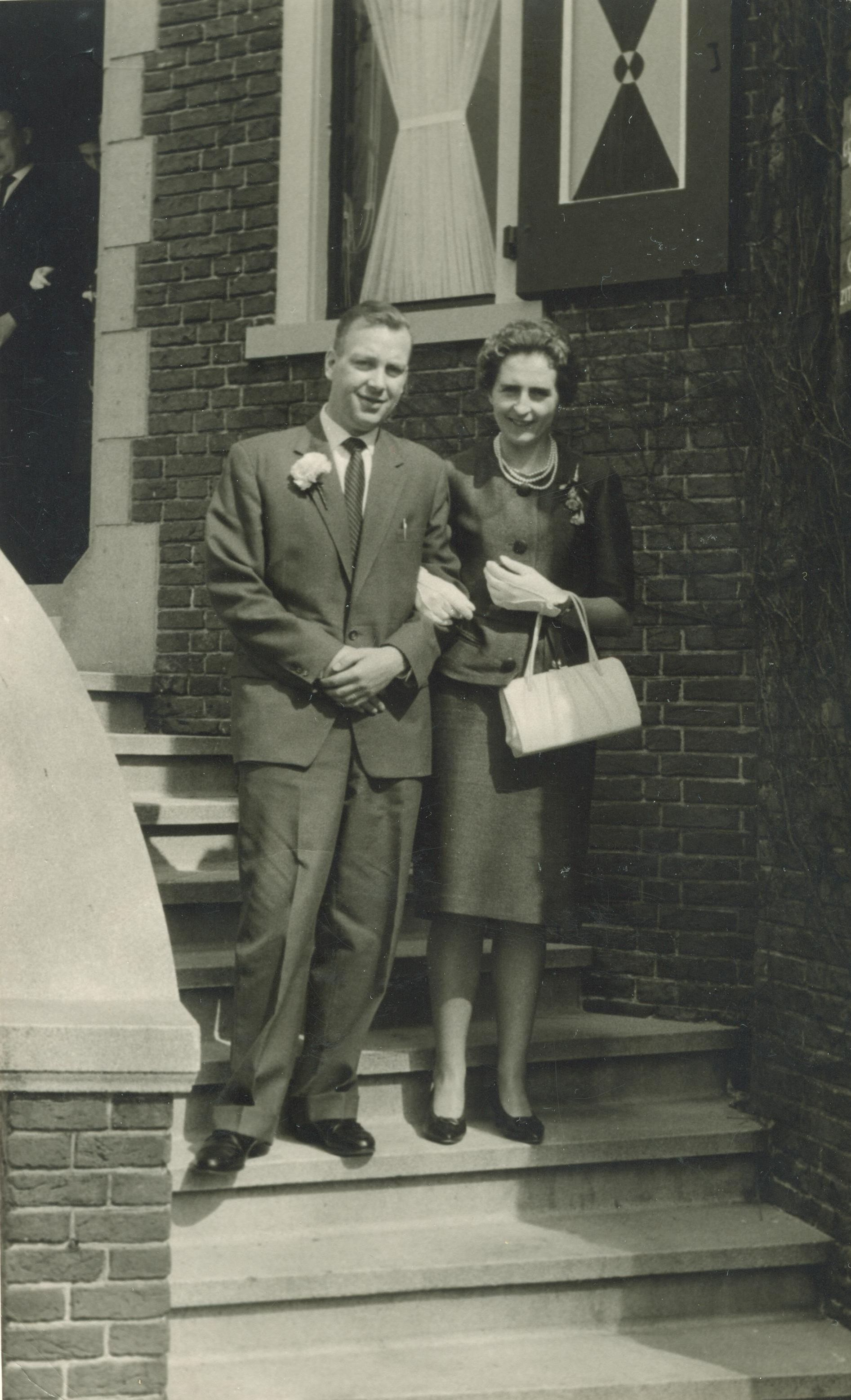 Johannes Pieter Brouwer (1929-2012), Wilhelmina Gijsberta Gaasbeek (1929-2005)