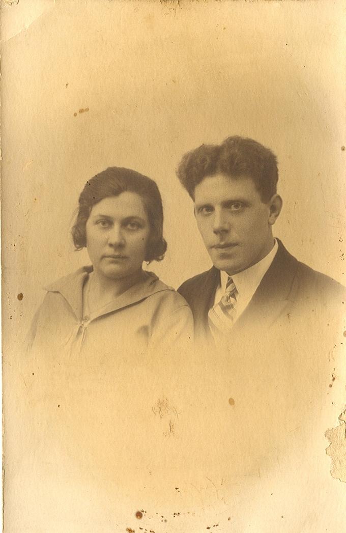 Maria Geertruida Brouwer (1901-1930), Anthonius Theodorus Swikker (1898-1977)