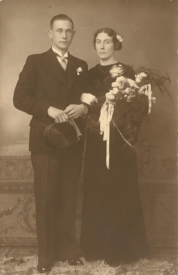 Marinus Gerardus van Walstijn (1911-1978), Johanna Maria Brouwer (1906-1992)
