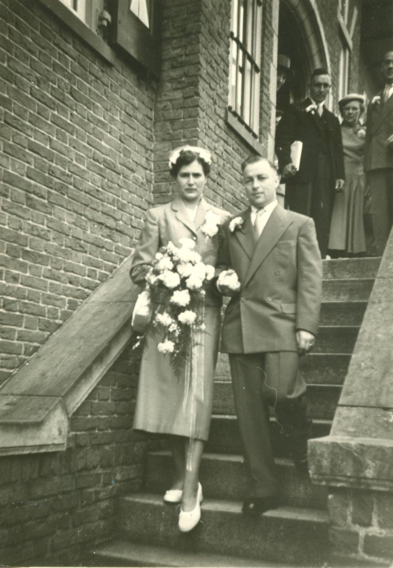 Catharina Joanna Maria van Geel (1937-1976), Marinus Maria Brouwer (1927-2017)