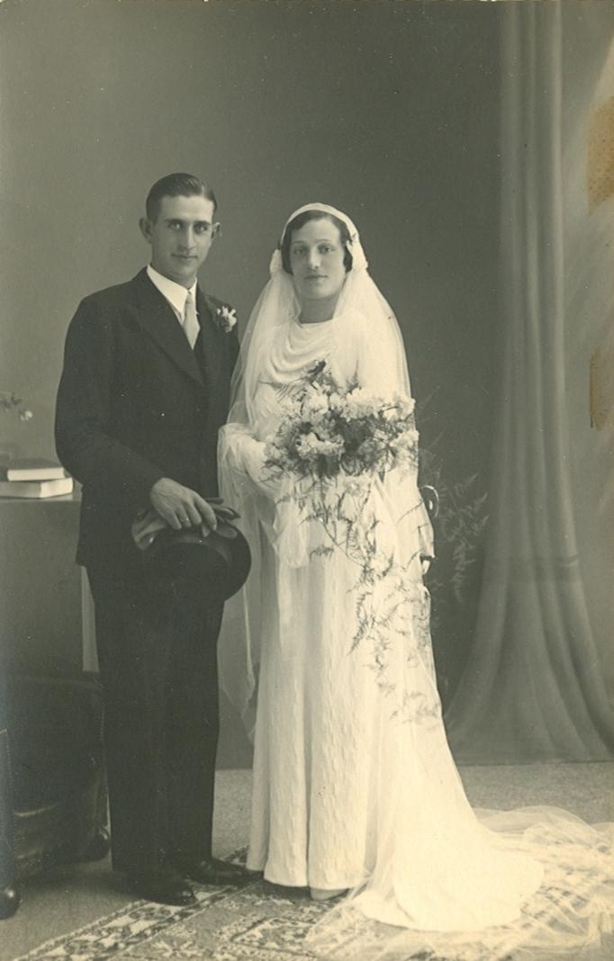 Pieter Brouwer (1912-2005), Maria Johanna Agterberg (1912-1990)