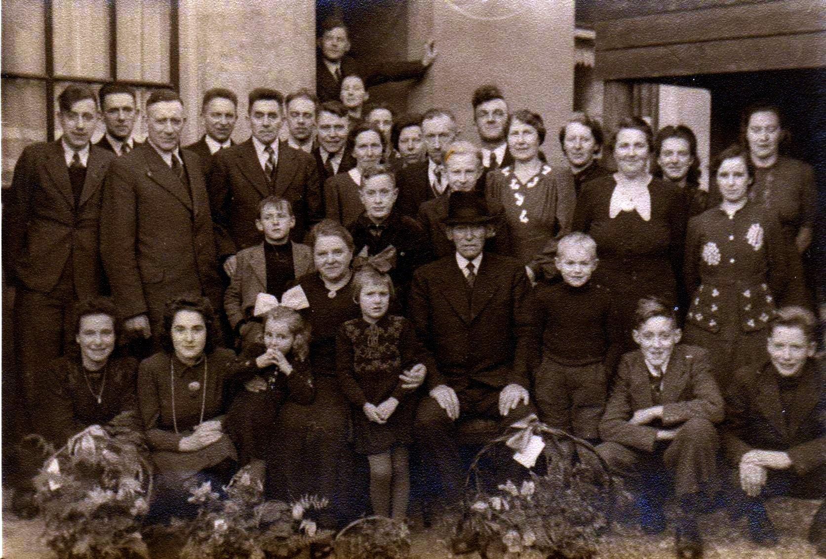 Teunis Zijderveld (1873-1947), Maagje Kool (1875-1965) en kinderen