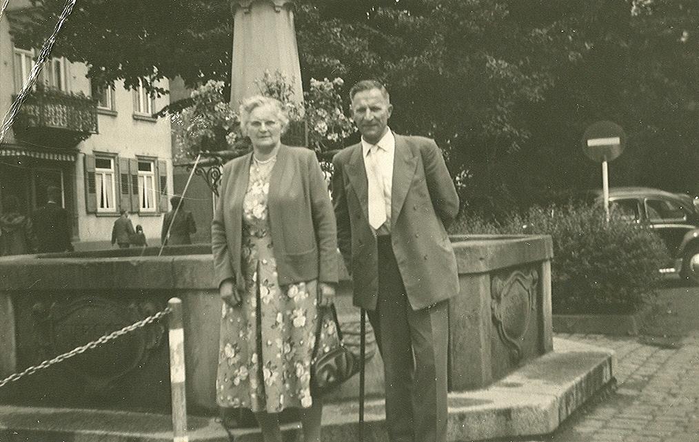Wilhelmina Kuus (1895-1979), Bernardus Gaasbeek (1893-1966)