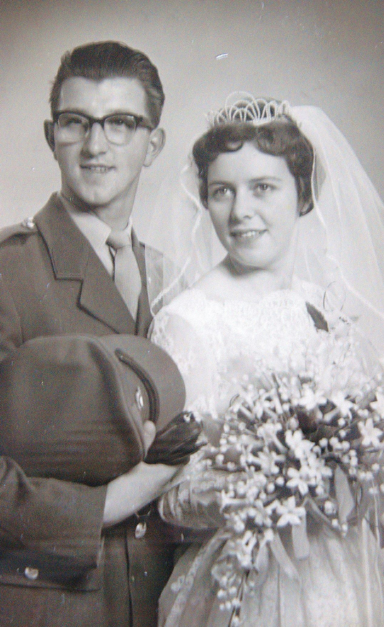 Wilhelmus Antonius Cazander x Barbara Constantia Brouwer - 1960