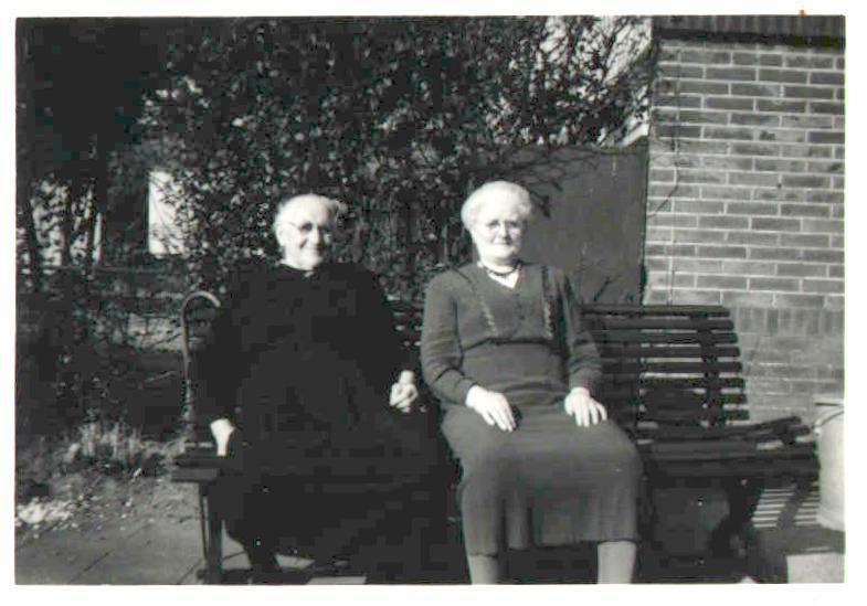 Geertruida Kool (1874-1959), oma Ten Boske (?) - 1957